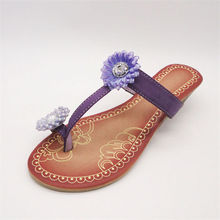 Export to Canada oem young fancy design beach slippers