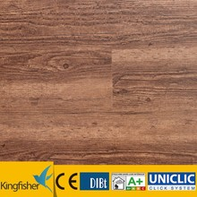5.0mm thickness with 0.3wl dark color super durable 25 years long time factory warranty vinyl plank flooring