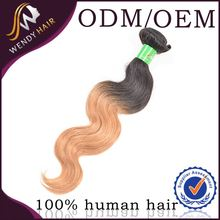 Annual exports of 50000 white sale body wave 100% virgin brazilian hair extension