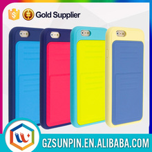 Mobile phone housing washable silicone case for iphone 6
