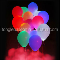 Decoration floating lighting balloon led, inflatable jellyfish balloon