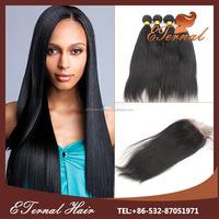 Hair New Wet And Wavy yaki hair extension 100% Virgin Filipino Human Hair Weave with closure