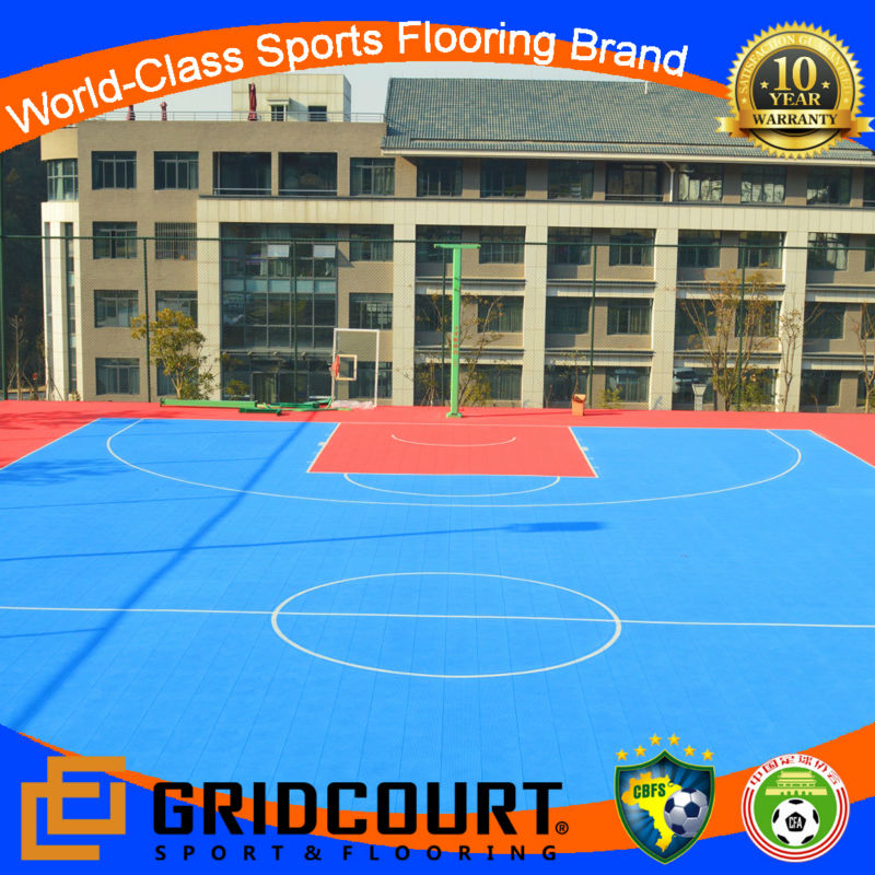 2014 Gridcourt university basketball flooring