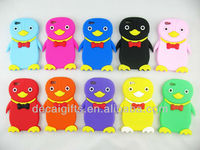 Best selling silicon penguin phone cover case