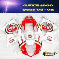 ABS Fairing kit for SUZUKI GSXR1000 GSX-R1000 GSXR 1000 K3 03 04 05 2003 2004 2005