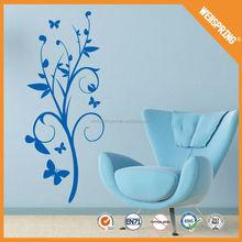 Popular for kids beautiful flower wall sticker custom size near sofa