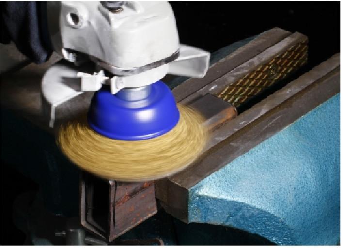 Alemanha padrão fio copo escova fábrica