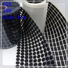 Magnetic self adhesive velcro dot