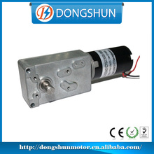 DS-70SW31ZY high torque low speed 12v 24v worm drive gear motor dc