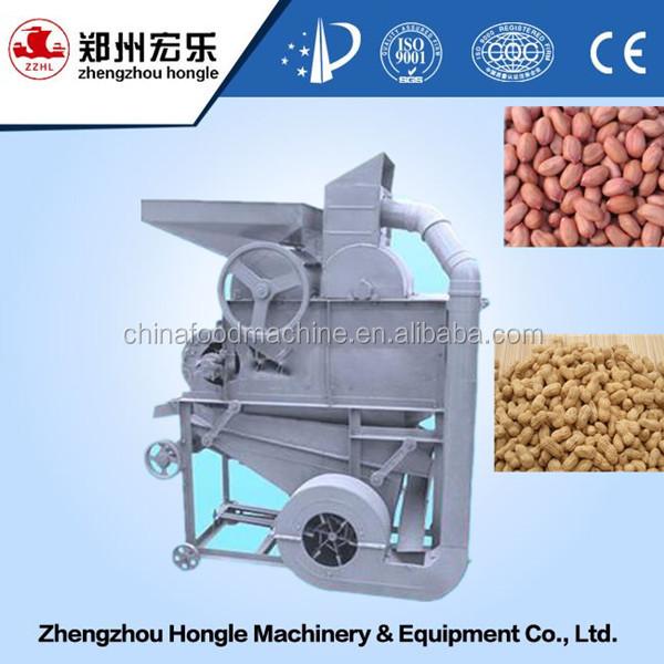 Alto tasso di peeling 98% arachide sgusciatore& arachide sgusciatore prezzo della macchina