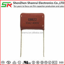 film capacitor 0.33uf 400V electronic component