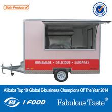 FV-30NEW coach trailer corn shape mobile trailer catering trailer manufacturers