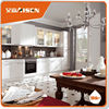 Professional mould design factory directly high gloss affordable modern kitchen cabinets