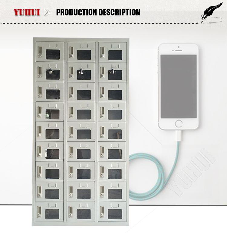 18 Door Cell Charging Locker Phone Charging Locker Cell