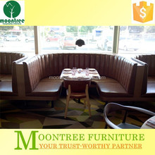 Moontree MDR-1362 High Quality Real Leather Dining Room Furniture