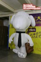 2015 hot sale inflatable cartoon , inflatable snoopy cartoon