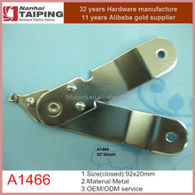 case lid stay, click stop in chrome plated