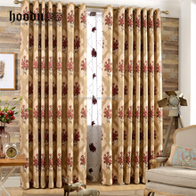 woven jacquard curtain for living room