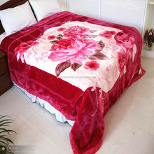 adults 100% polyester blanket travel thick throw blanket