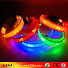 safety illumination reflective strips led collar