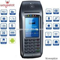 waypotat android card swipe machine with printer vpos3385