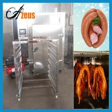 Automatic pork bacon sausage hicken meat smoking machine