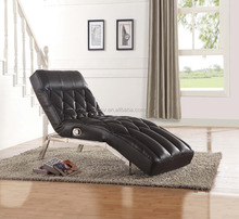 New Design Luxury Leather Chaise Lounge