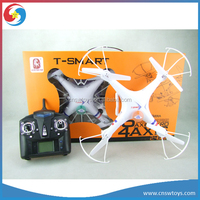 YK0807428 New bright XBM-32 2.4G 6-axis gyro ufo rc drone RC quadcopter with gyro and camera video LCD remote controller