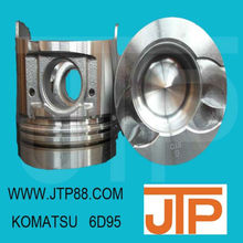High quality KOMATSU 6D95 piston 4D95 6D102 6D105 6D108 6D125 all in stock