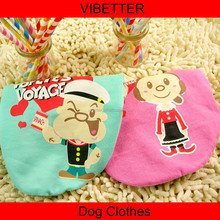 GYF-036 sailor Popeye and Oliver print dog T-shirt Popular high quality pet clothes