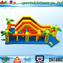 inflatable obstacle course, giant inflatable obstacle, inflatable water obstacle course for sale