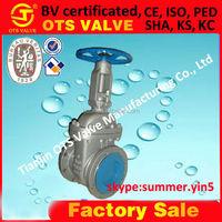 GV-SY--516 Carbon Steel rising stem Gate valve bolted bonnet outside screw with yoke