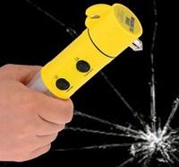 High quality 4 in 1 Car Emergency Tool / Emergency Safety Hammer / Safety hammer with flashlight