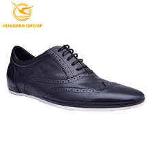 2015 fashion new style best comfortable brand italian men casual shoes, lace-up oxford brogues casual shoes for men