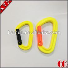 Dongguan durable plastic carabiner Hooks mountain climbing hooks