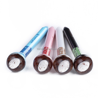 China Directly Factory Quail Egg Ball Pen ballpoint pen with resin button
