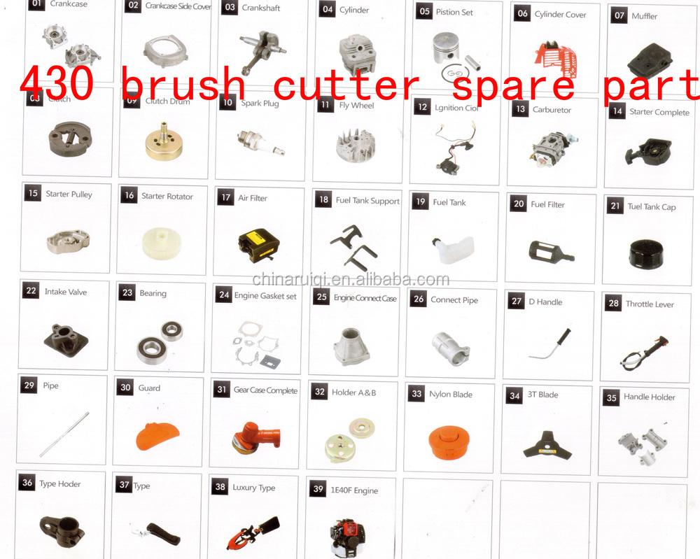 40-5brush cutter
