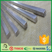 ASTM A276 A581 A582 304L Stainless steel square bar