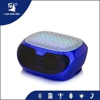 Mini 2015 New design bluetooth big subwoofer 2.1 home car speaker karaoke with microphone