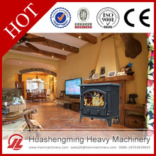 HSM CE High Efficiency High Quality Modern Wood Burning Cast Iron Outdoor Fireplace