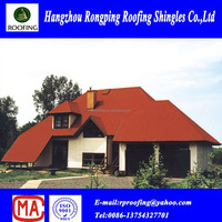 Red round fiberglass asphalt roof shingles prices manufacturers
