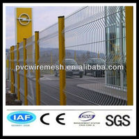 Fence plastic PVC/ Coated Portable Wire Mesh Safety Fencing(manufacturer))