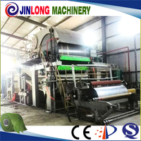 Shandong low cost toilet tissue paper making machine