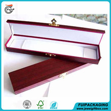 2015 Hot sale High quality wood engagement wedding necklace box made in china