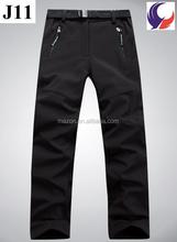 Das mulheres ao ar livre calças de lã caminhadas ater impermeável respirável calças J11