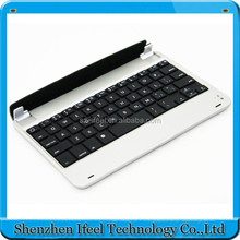 Portable bluetooth keyboard leather case for ipad mini 1/2/3 with stand