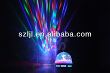 Home Party, Christmas, Stage Decoration Full Color RGB Auto Rotating Led Blub Lamp 3 Watt (CE& RoHS Passed)