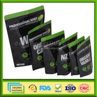 Stand Up Protein Powder Barrier Bag