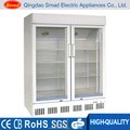 Porta de vidro geladeira bebidas cooler/vitrinas/vidro vitrine de exibição