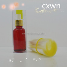 Luxury glass bottle for cosmetic packaging made in China